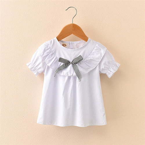 Baby Girl's T-shirt Summer Clothes Fashion in Bow Design