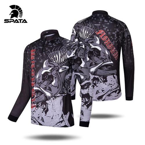 Fishing Jersey Tee Shirt For Men Long Sleeve Sport
