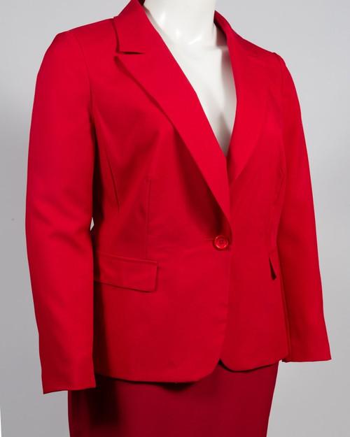 Danillo Crepe Skirt Suit Set (Plus Size)