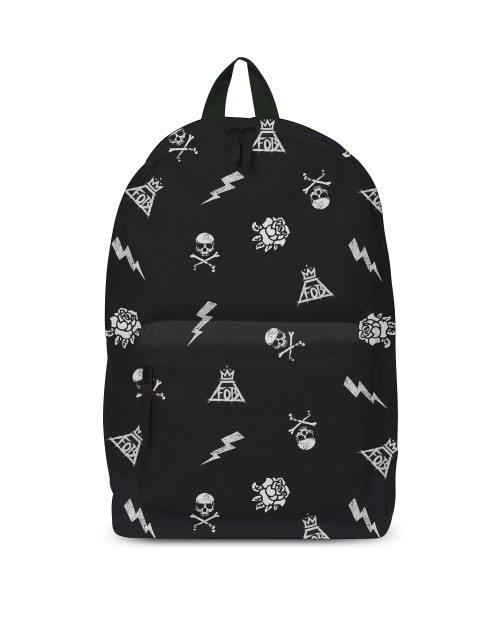 Fall Out Boy - Backpack - Logo Pattern