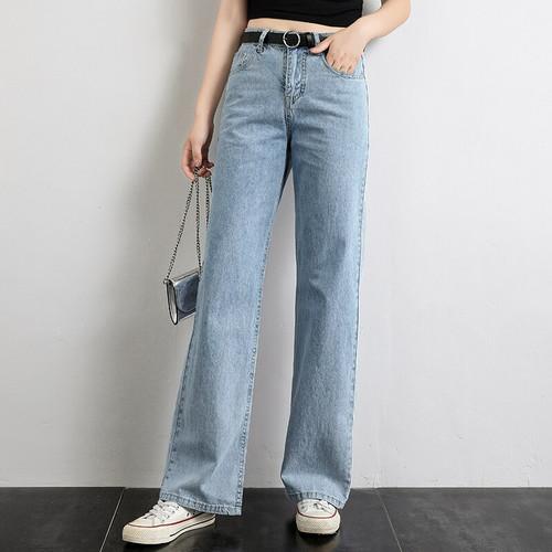 Wide Leg Jeans for Women High Street Denim