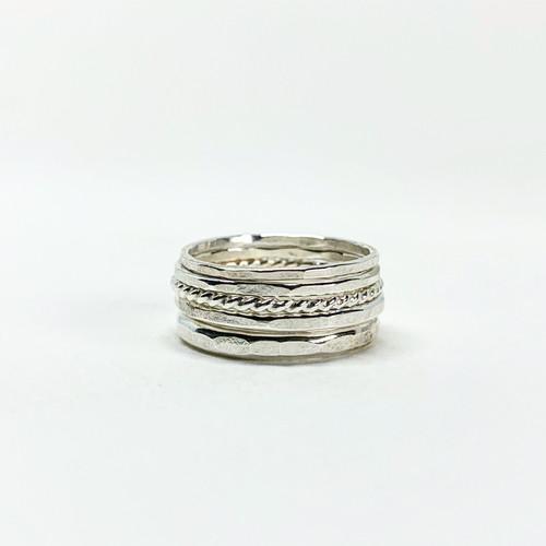 Bridal Stacking Ring Set