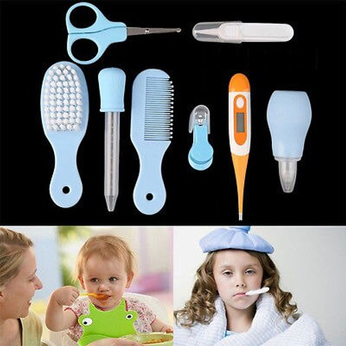8pc Newborn Baby Nail Hair Health Care Body