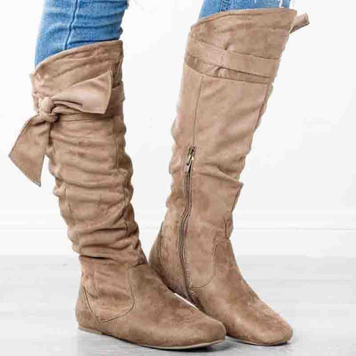 Women's Boots Sexy Over The Knee High - Tan