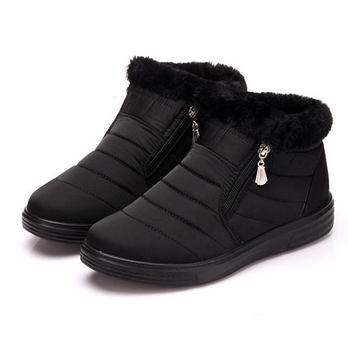 Women's Snow Boots Warm Short Fur Winter Ankle