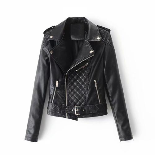 Women's PU Faux Leather Jacket
