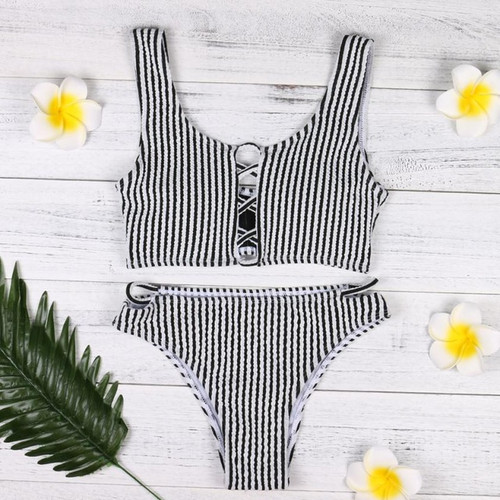 Beautiful Women's Bikini Set Swimwear Push-Up