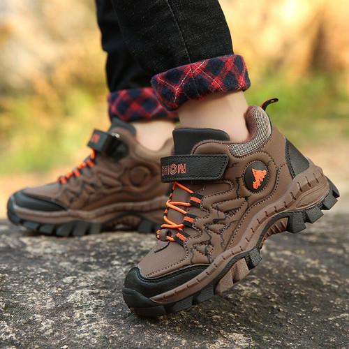 Boy's Plus Cotton Outdoor Sports Shoes