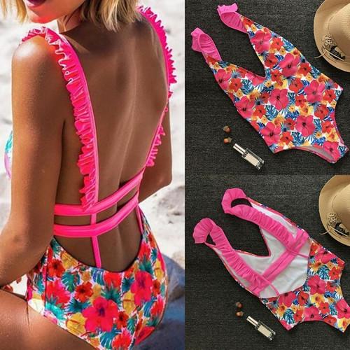 Attractive Women's Bikini Set Swimwear Push-Up