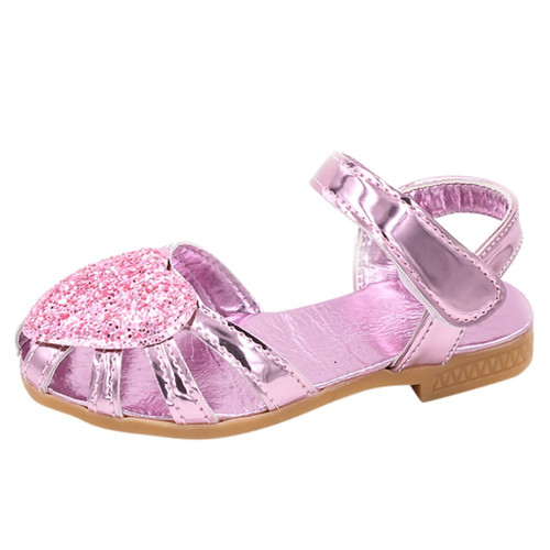 Baby Girl's Bling Shoes Pu Leather for Children