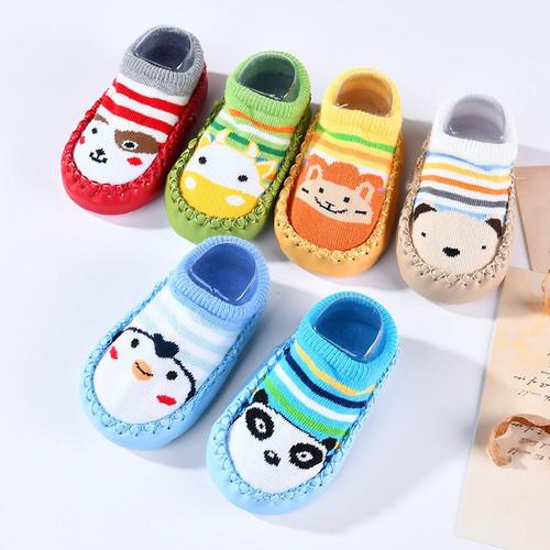 Baby Sock Shoes Cartoon Design
