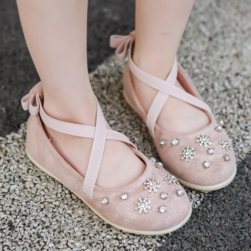 Autumn Cute Girl's Princess Belted Shoes