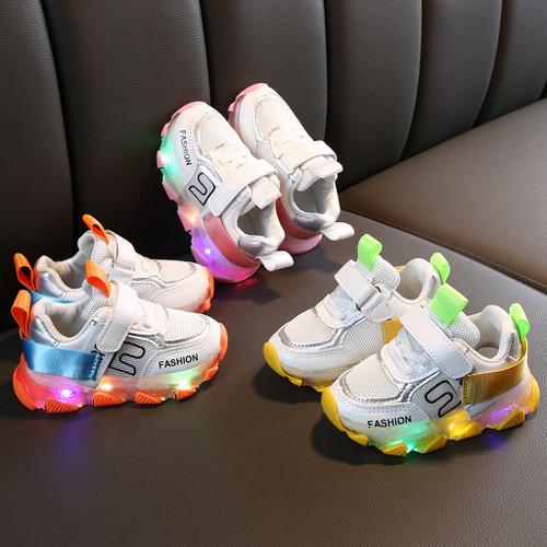 Baby LED Light Sport Running Shoes