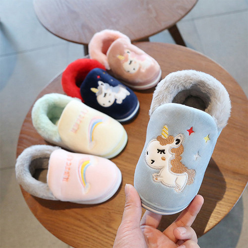 Children's Cotton Puffy Shoes indoor Casual