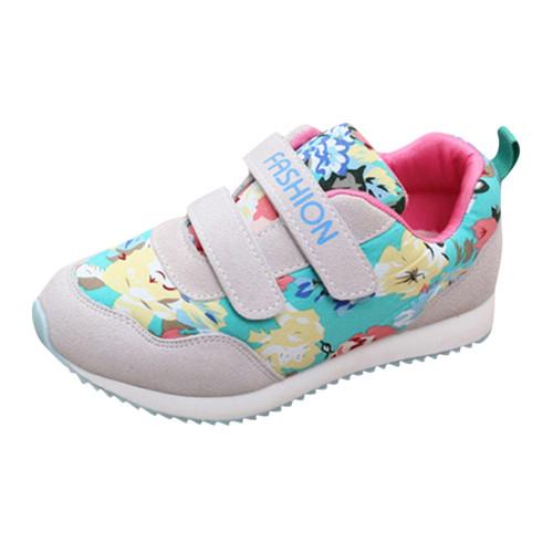 Shoes For Girl's Flower Designed