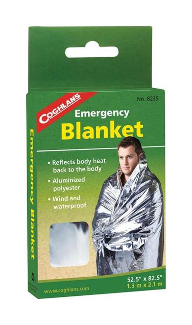 Coghlan's Silver Survival Blanket  6.000 in. H x 52-1/2 in