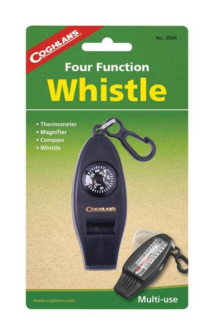 Coghlan's Black Whistle 6.875 in. H x 4.00 in.