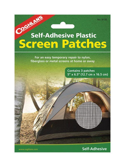 Coghlan's White Tent Screen Patches 7.375 in. H x 6-1/2 in. W x 5