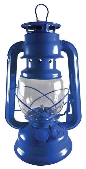 V & O Blue Lantern 12 in. H x 5-1/2 in. W x 11 in.