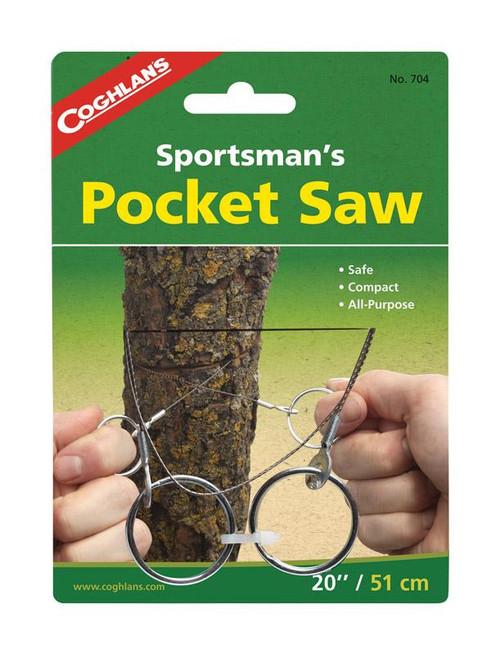 Coghlan's Sportsman's Pocket Saw Silver Camp Saw  6.5 in.
