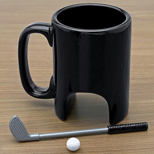 Golf Putt Ceramic Mug