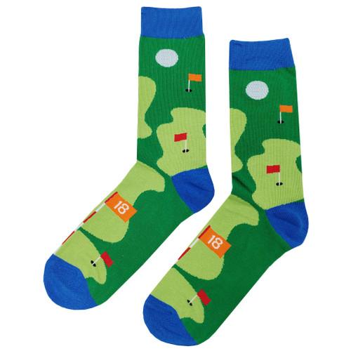Golf Hole 18 Socks