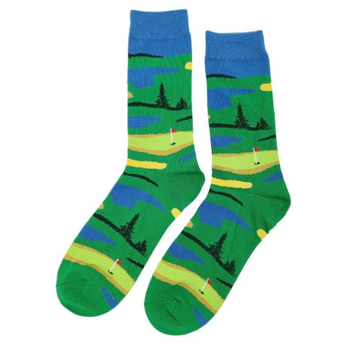 Golf Green Socks