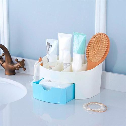2 Layer Mini Cosmetic Drawer Storage Case