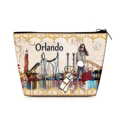 OH Fashion Cosmetic Bag Amazing Orlando