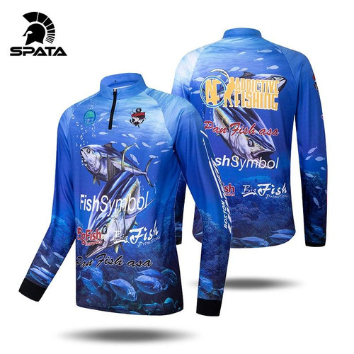 Breathable fishing shirts long sleeve tuna Clothing