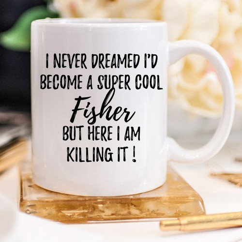 Fisher Mug, Fisher Gift, Gift For Fisher, Funny