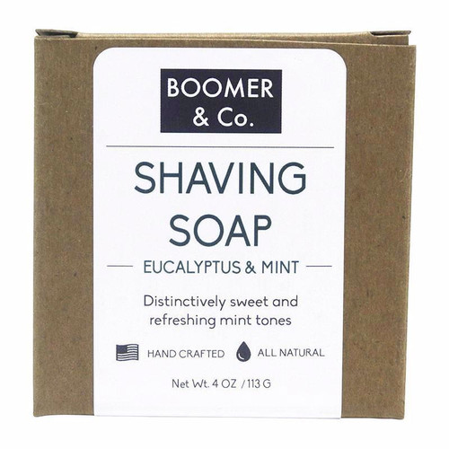 Eucalyptus & Mint Shaving Soap Bar