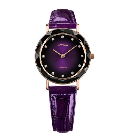 Aura Swiss Ladies Watch in Purple