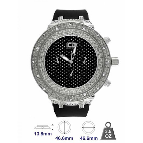 Bling Watch for Men in Ice Brand Name