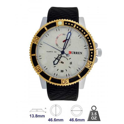 Brand Leather Strap Watch for Men