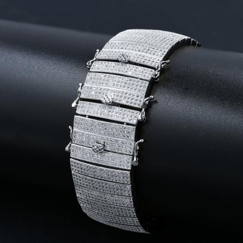 BECKON Cubic Zirconia Watch Band
