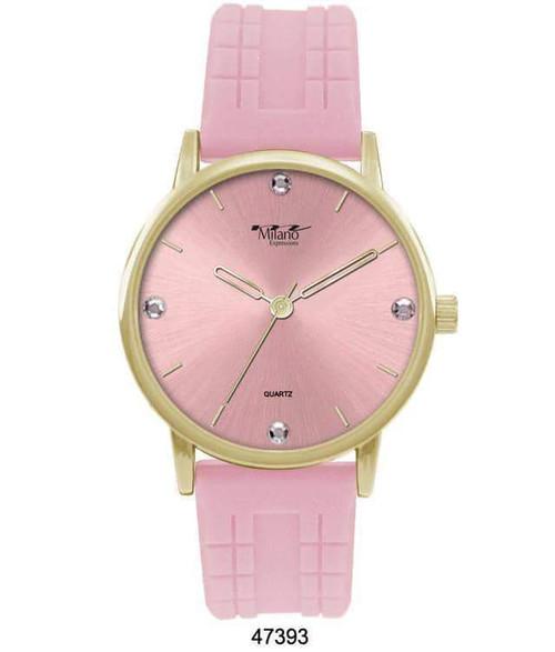 Prinsio Women's Pink Watch