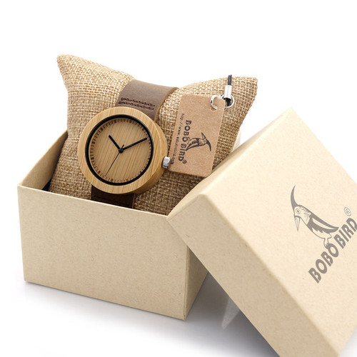 High Quality New Bamboo Wood Watch