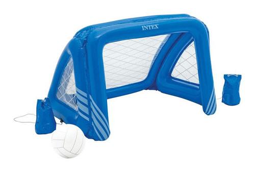 Intex Multicolored Plastic Inflatable Fun Goal Pool Game