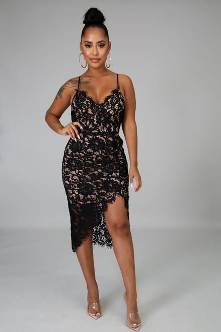 Maely Black Dress