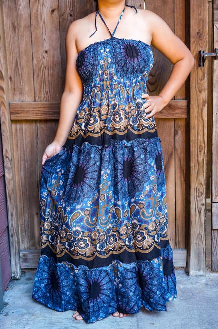 Women's Maxi Dress Hippie Gypsy