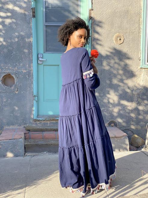 Rossini Maxi Dress in a creative Design