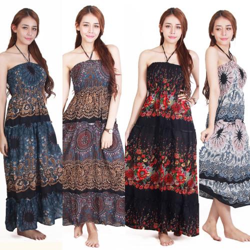 Boho Maxi Dress Hippie/Gypsy Dress