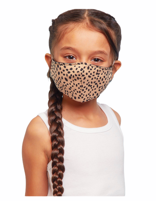 Leopard Safety Kids Mask