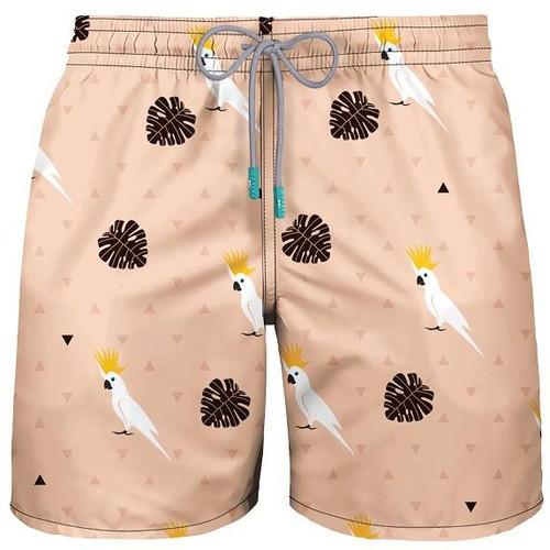 Men's Swimwear Cockatoo Beige