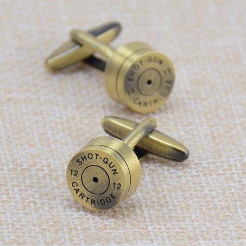 Brass Bullet Cufflinks