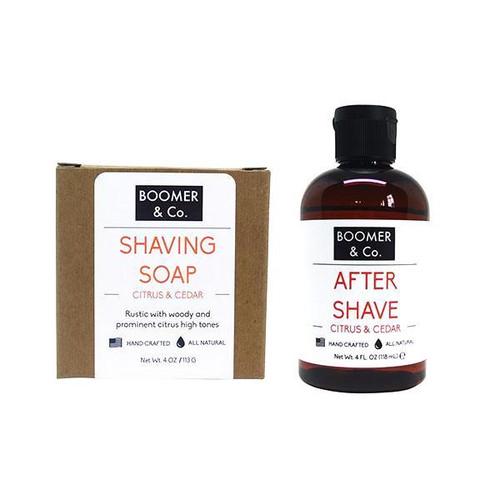 Citrus & Cedar Shaving Kit