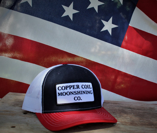 COPPER COIL American Freedom Trucker Hat