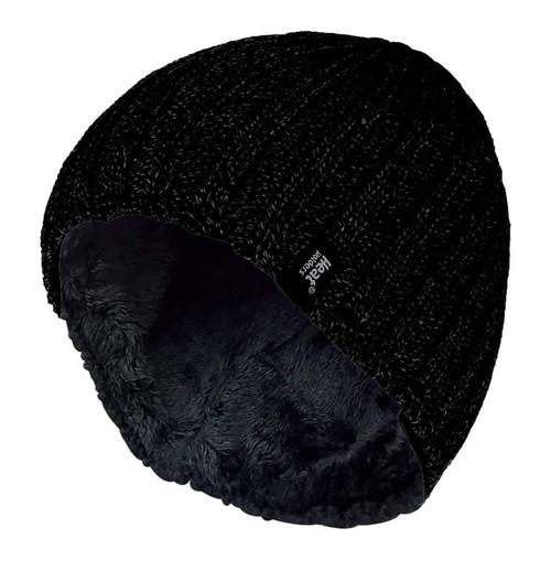 Men's Fleece Lined Thermal Beanie Hat