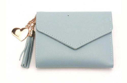 Tassel clutch wallet
